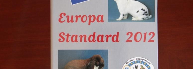 Европейский каталог стандартов пород кроликов