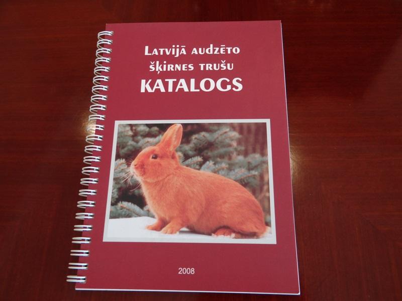 Латвия каталог кроликов