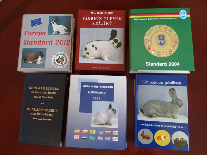 Каталоги пород кроликов