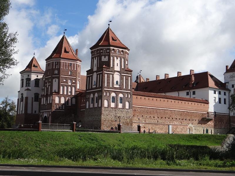 Мирской замок. Беларусь