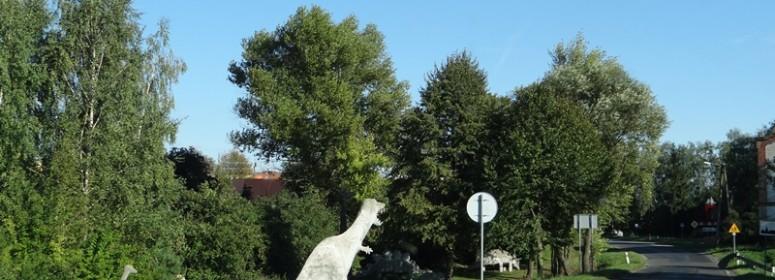 Польша . Динозавры.