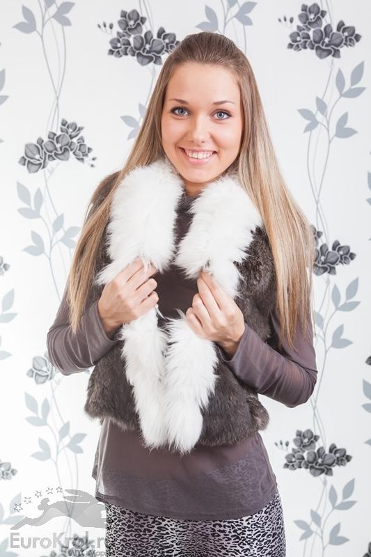 Меховые изделия из кроликов