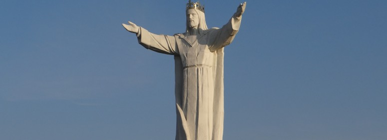 Статуя Иисуса Христа. Свебодзин