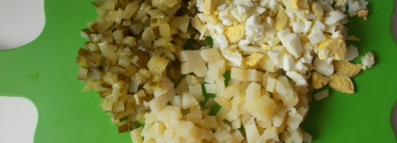 Салат из кролика
