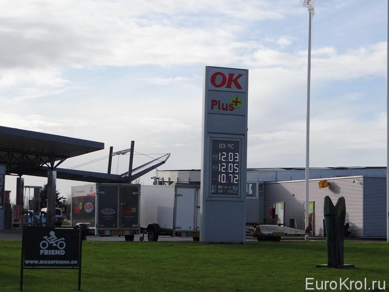 Топливо в Дании