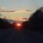 Закат на М5
