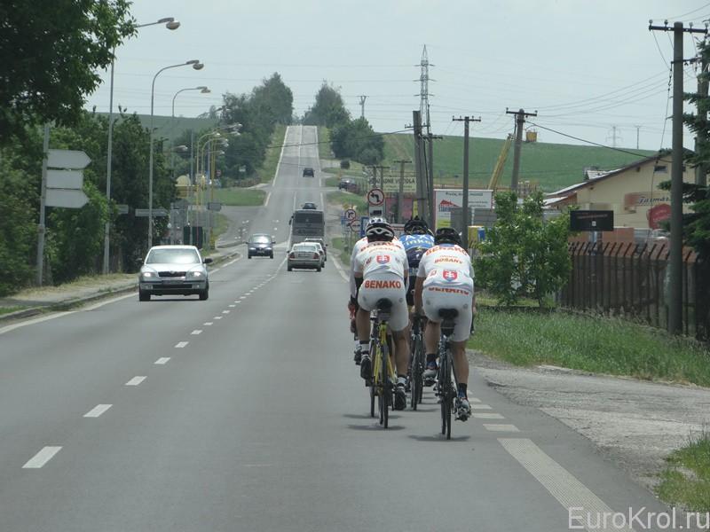 Словакия велосипедисты