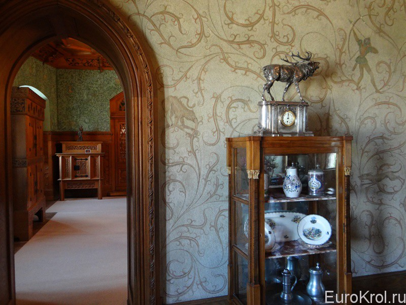 Замок в словацком городе Бойнице