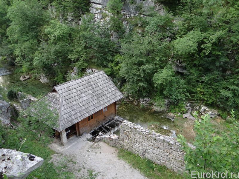 Водяная мельница в Хорватии