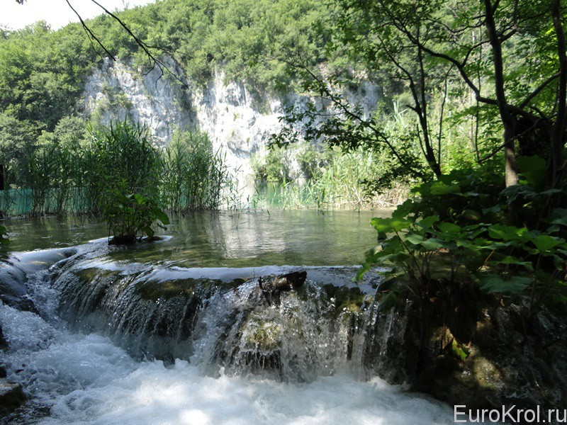 Плитвицкие озёра в Хорватии
