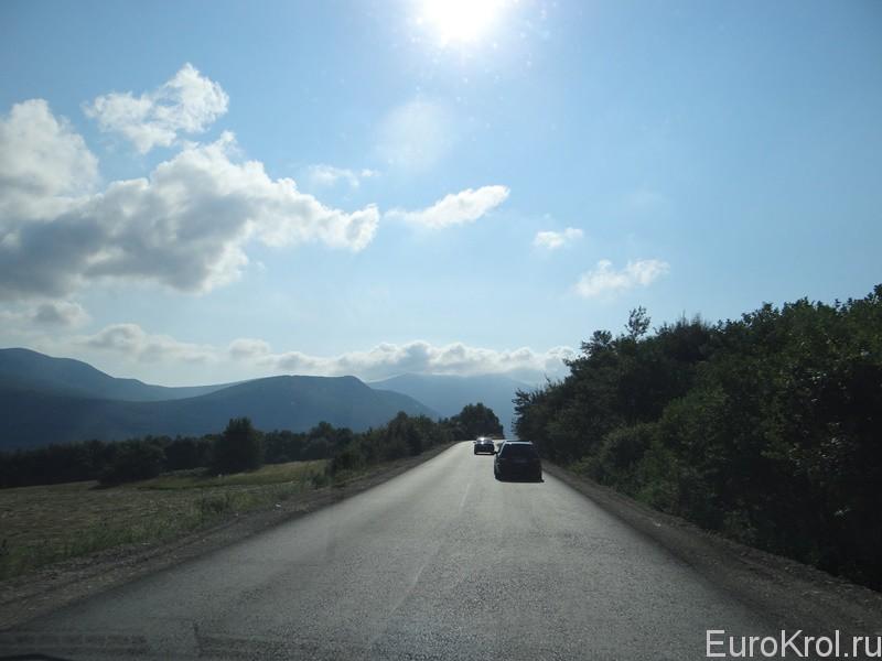 Дорога в Хорватию