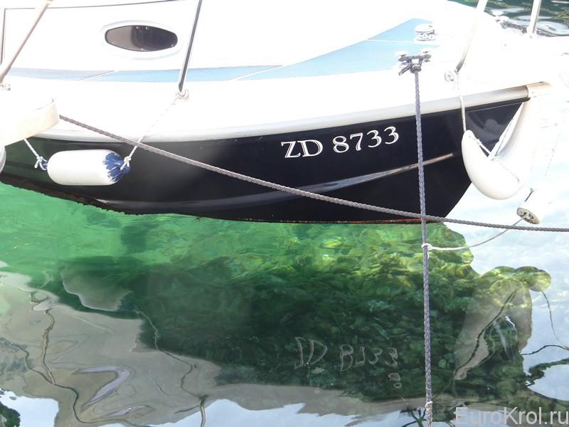 Прозрачное море Адриатики