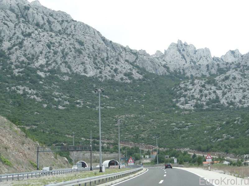 Горы Хорватии