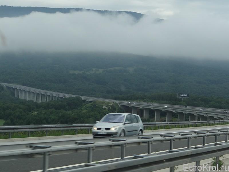тоннель в Хорватии