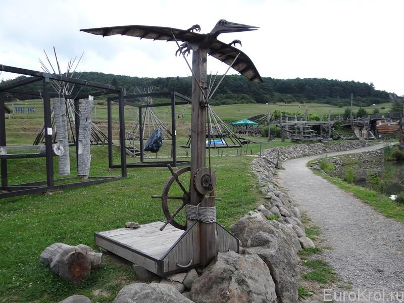 Рачья ферма в Словакии