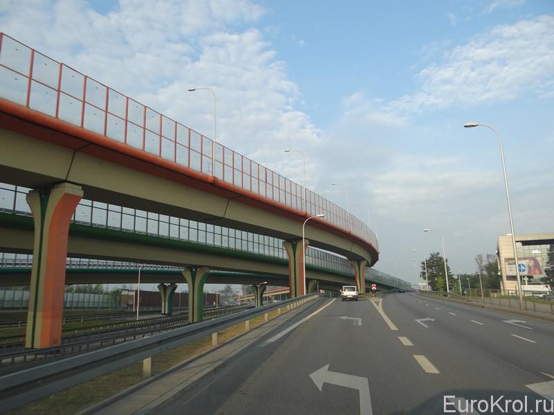 Автомобильные развязки в Варшаве