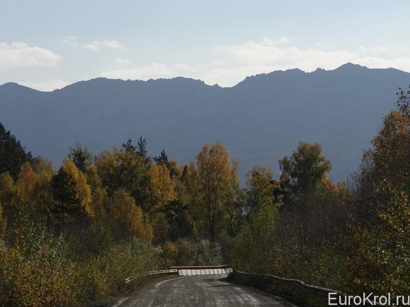Дорога в Тюлюк