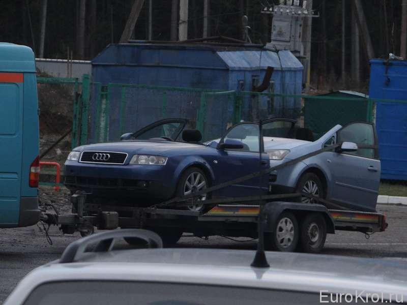 Авто распил из Европы
