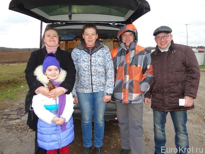С Белорусскими кролиководами