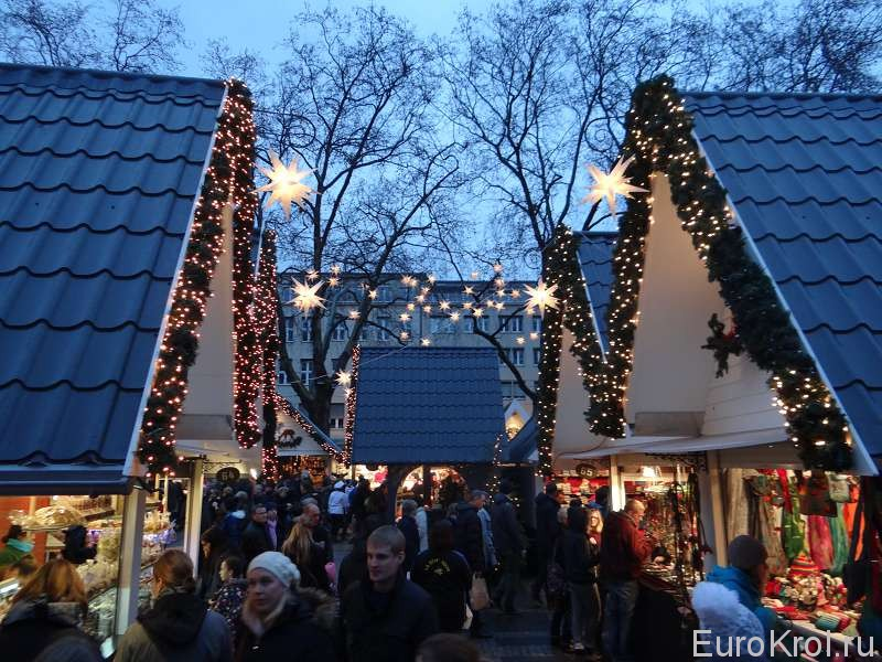 Рождественская ярмарка в Кёльне