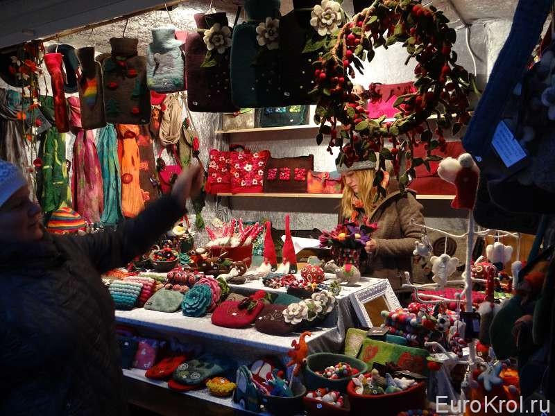 Рождественские сувениры в Кёльне