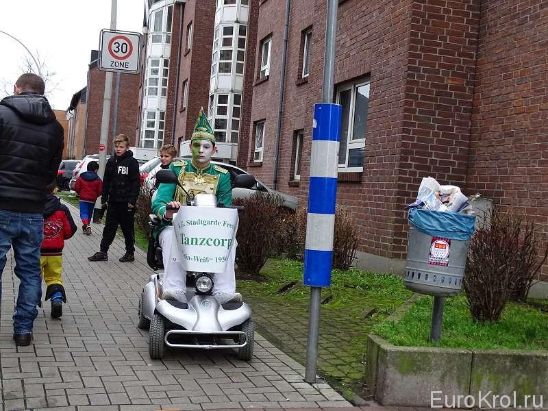 На карнавале в Германии