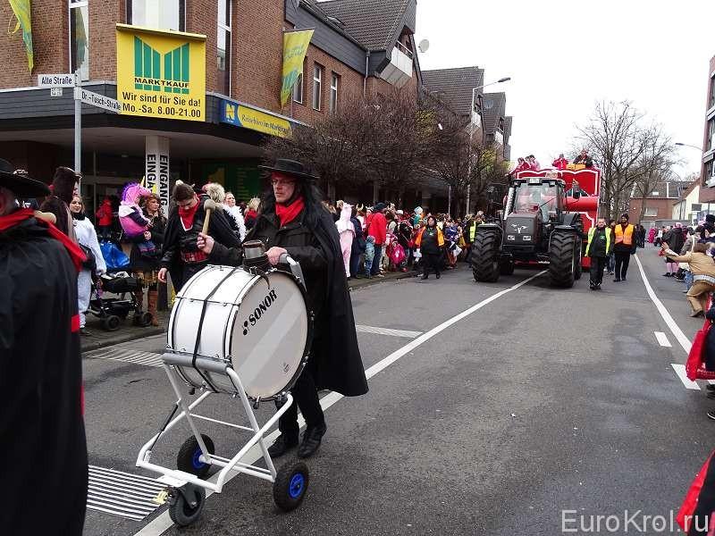 Шествие карнавал