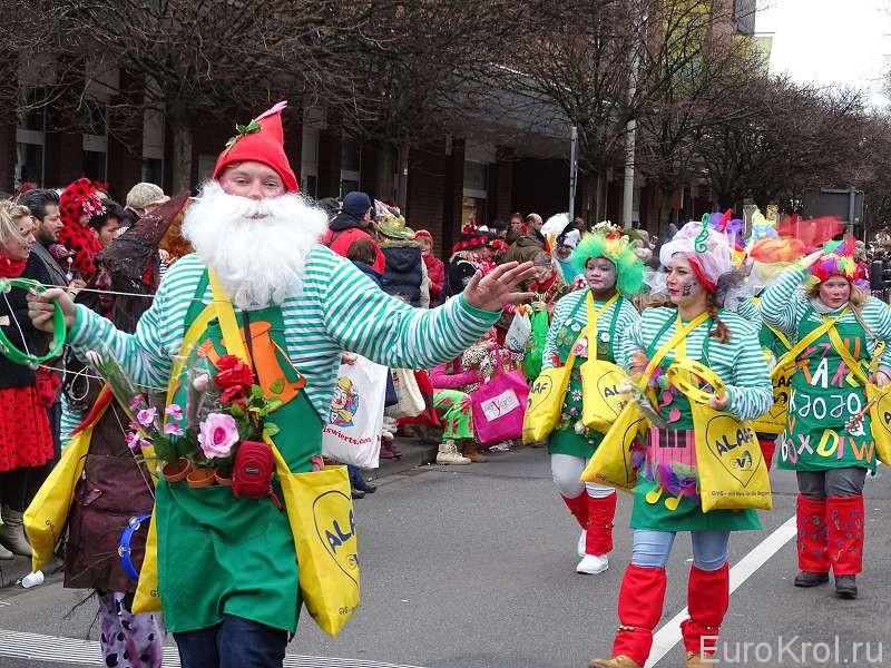 Костюм карнавал Кёльн