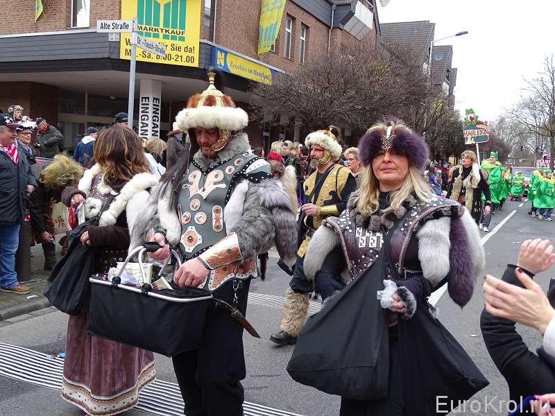 Карнавальное шествие в Кёльне
