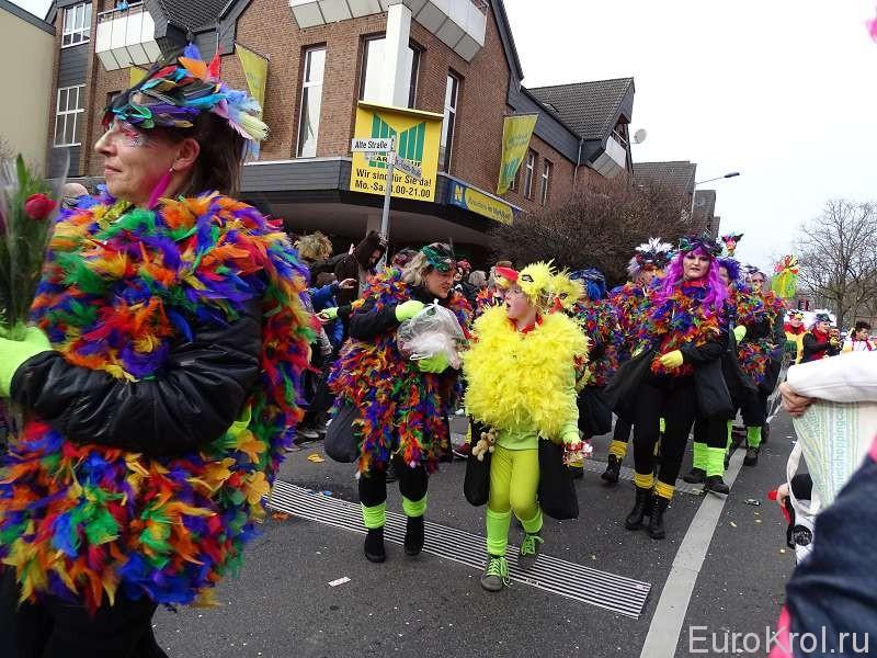 Краски карнавала Германия