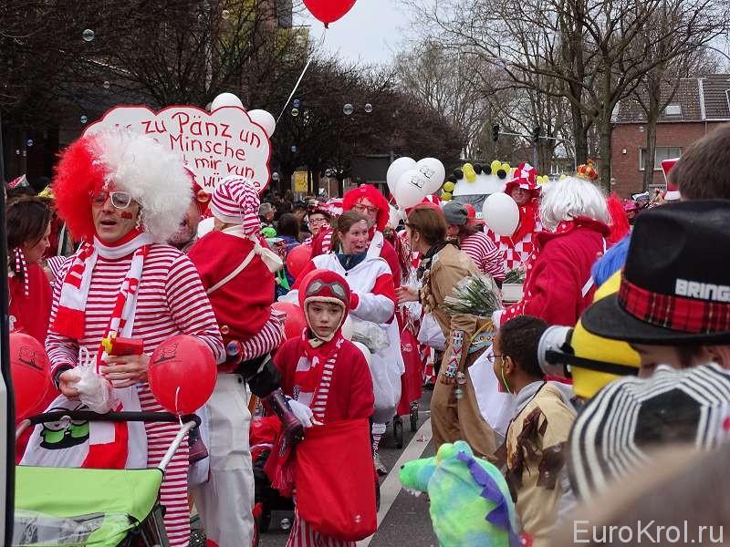 Маскарад на карнавале