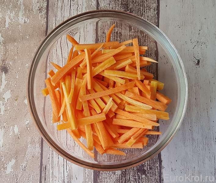 Морковь для жаркого