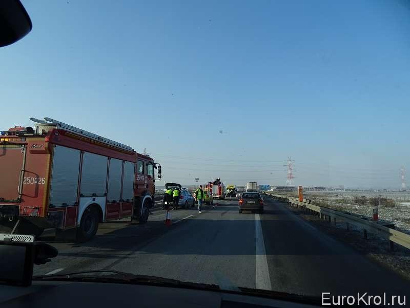 Авария на автобане