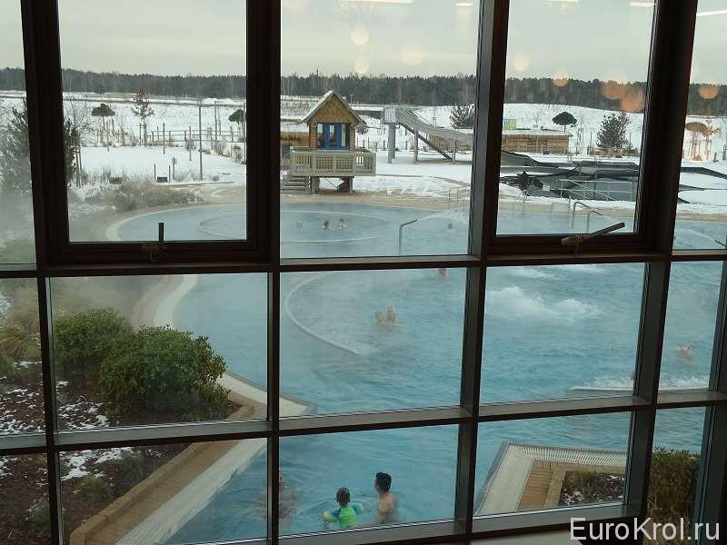 центр водных развлечений  в Германии