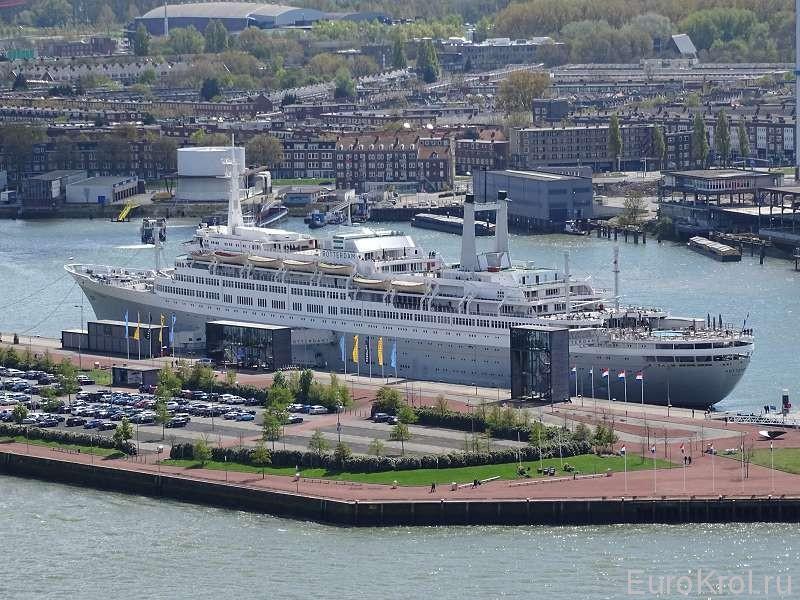 В порту Роттердама