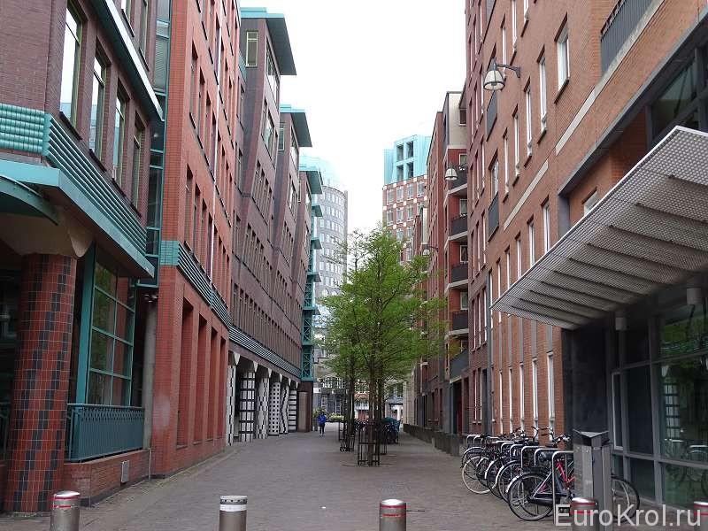 Красивые дома в Гааге