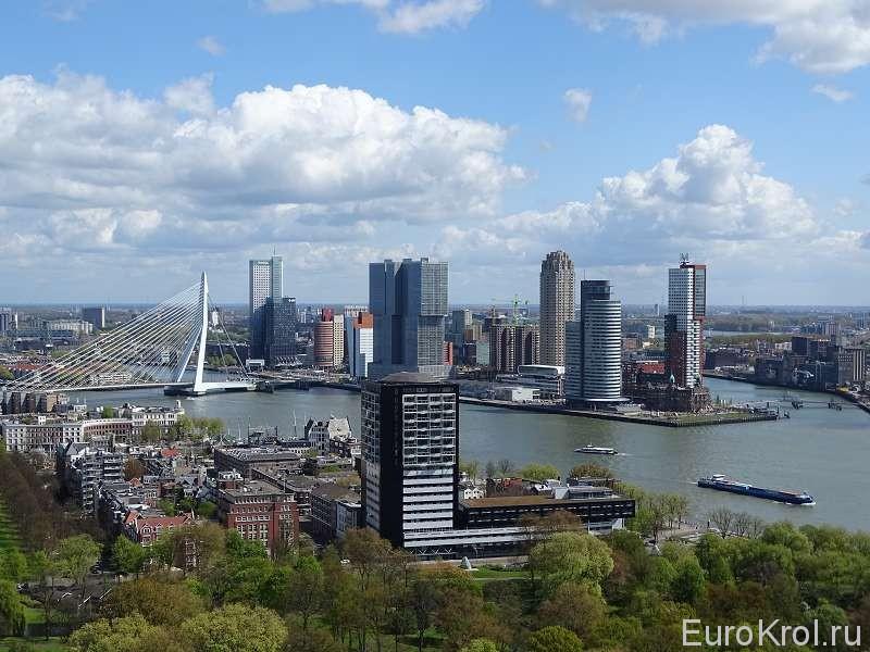 Роттердам с высоты