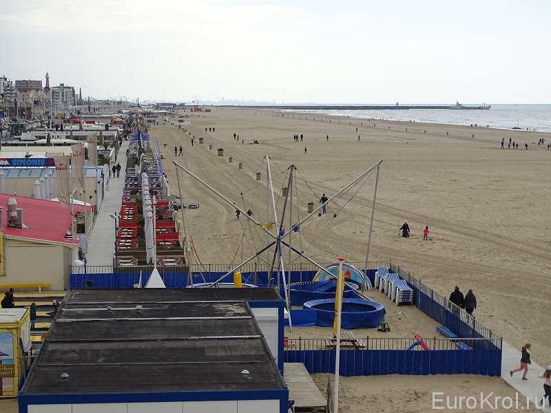 Схевенинген (Scheveningen) пляж