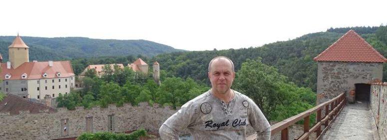 В Чешском замке
