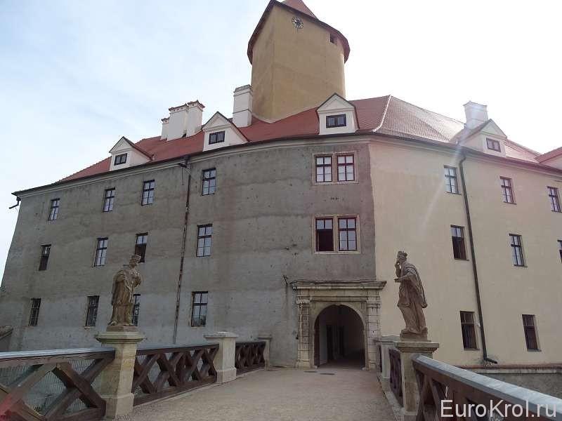 Замок Вевержи Чехия
