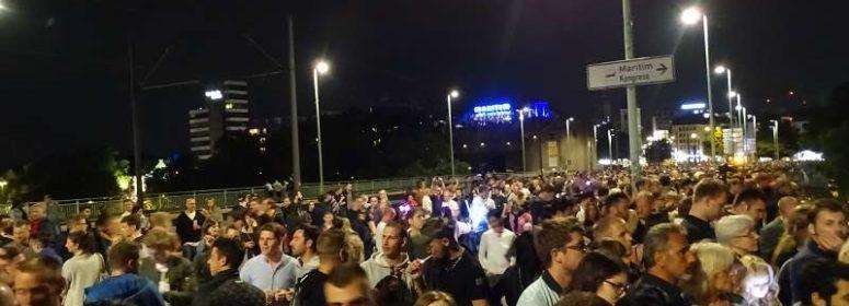 Зрители фестиваля в Кёльне