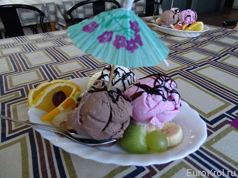 Мороженое в летнюю жару