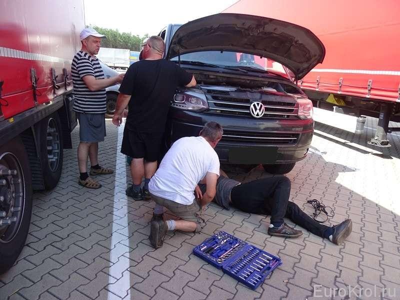 Польский дорожный сервис