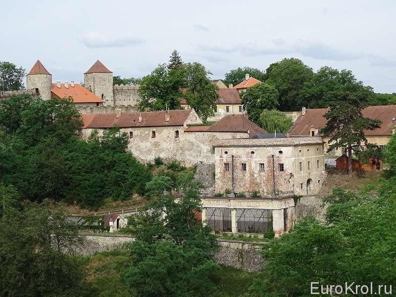Чешский замок Вевержи (Veveří)
