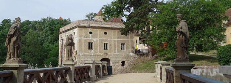 Чешский замок Veveří