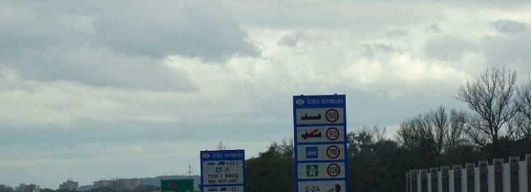 Пограничный знак Чехии