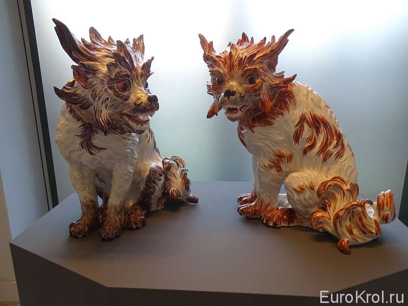 Животные из фарфора