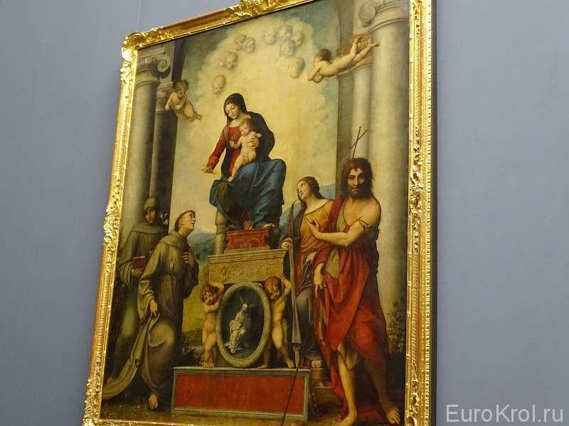 Картины в галерее Дрезден