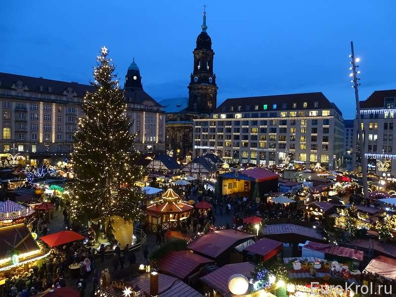Рождественская ярмарка Штрицельмаркт(Striezelmarkt)
