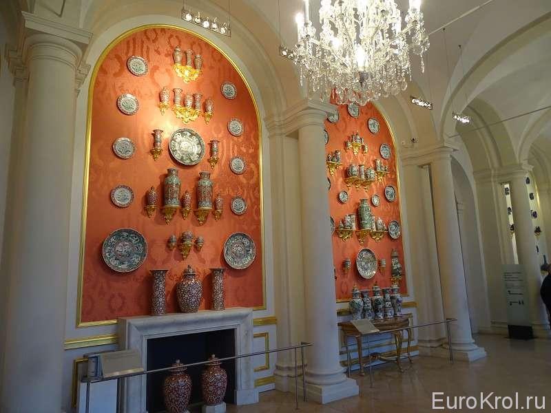 музей фарфора Дрезден